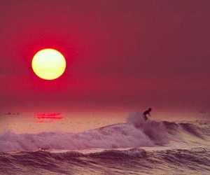 sun, sunset, and amazing image