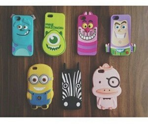 iphone, cases, and minions image