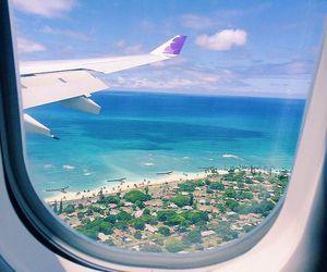 beach, hawaii, and Island image