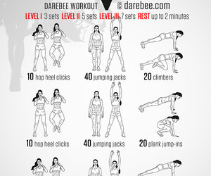 health, workout, and darebee image
