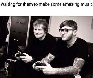 favourite, singer, and ed sheeran image