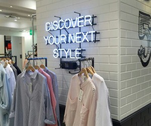 neon and clothes image