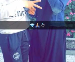 couple, muslim, and henoune image