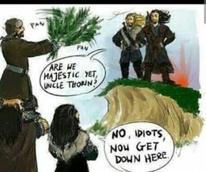 dwarves, funny, and LOTR image