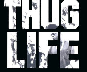 tupac, 2pac, and life image