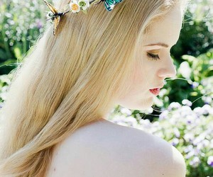 fairy and flower crown image