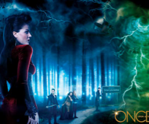 once upon a time, green, and regina image