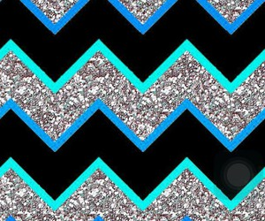 chevron, glitter, and wallpaper image
