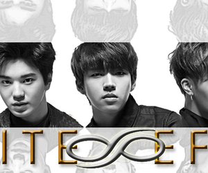 black and white, infinite, and world tour image