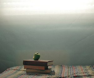apple, books, and photography image