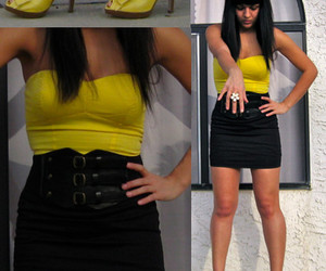 black, yellow, and fat image