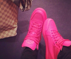 gucci, shoes, and pink image
