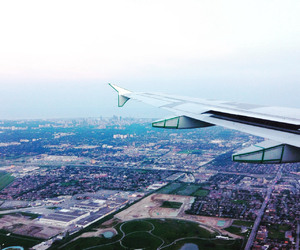air, landscape, and toronto image
