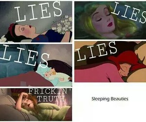 disney, princess, and lies image
