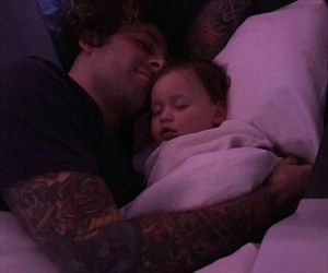 baby, daughter, and fall out boy image