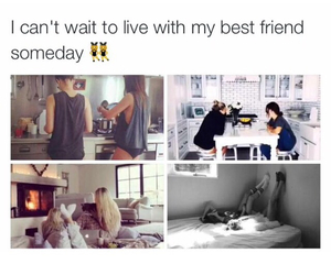 friendship, me, and goals image