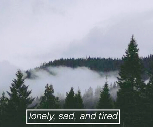 grunge, lonely, and sad image
