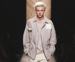 handsome, lucky blue smith, and hot guy image