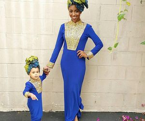 African and fashion image