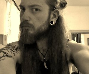 viking, metalheads, and boys with long hair image