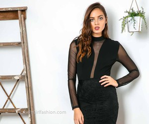clubbing, dress, and party dress image