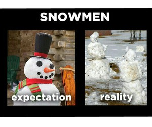 funny, snowmen, and winter image