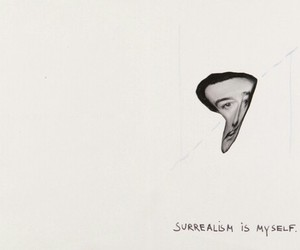 art, surrealism, and dali image