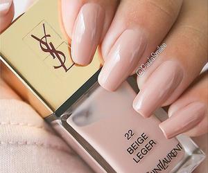 nails, YSL, and nail polish image