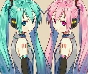 anime girl, vocaloid, and anime image