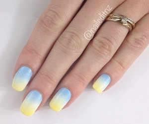 beauty, nail designs, and gradient image