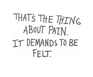 pain, quotes, and tfios image