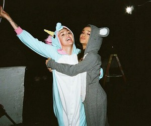 miley cyrus, you and me, and ariana grande image