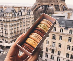 food, cool, and macaroons image