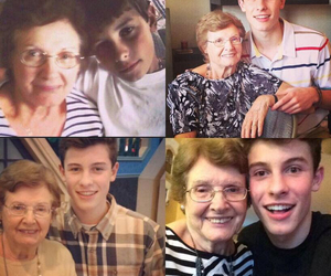 magcon, shawn m, and mendes's family image