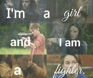 girl, fighter, and harry potter image