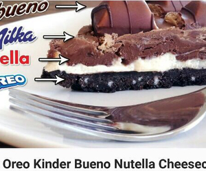 food, nutella, and oreo image