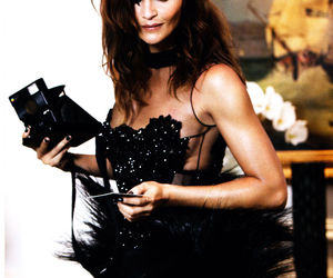 helena christensen and model image