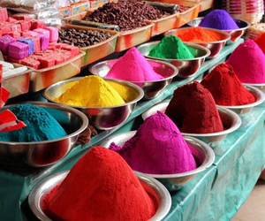 color and india image