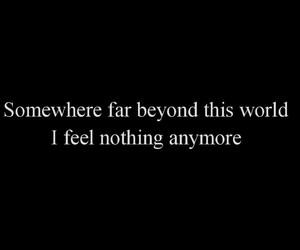 alone, depressing, and sad image