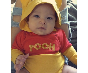 baby, cute baby, and pooh image