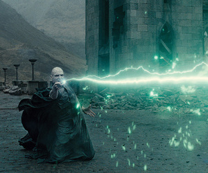 avada kedavra, enemy, and harry potter image