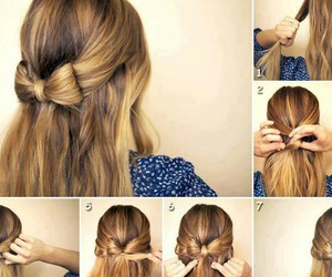 hair, style, and sweet image