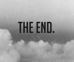 The End And Clouds Image