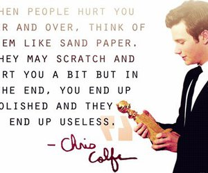 quote, glee, and chris colfer image
