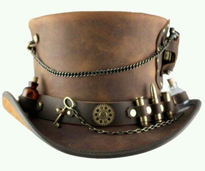 hat and steampunk image