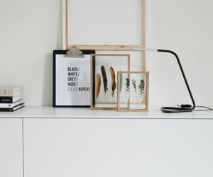 black, interior, and simple image