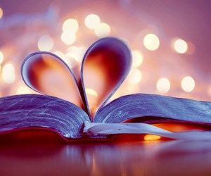 books, iloveyou, and u image