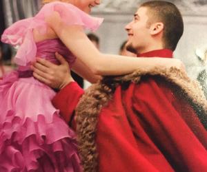 couple, poudlard, and danser image