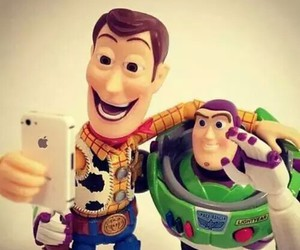 selfie, toy story, and disney image