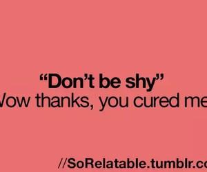 shy image